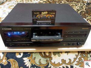 S830S спереди с открытым кассетоприёмником
